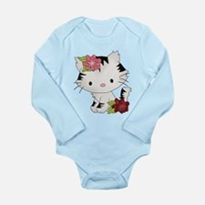 Cat Cuteness Long Sleeve Infant Bodysuit