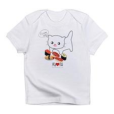 sushi cat png.png Infant T-Shirt