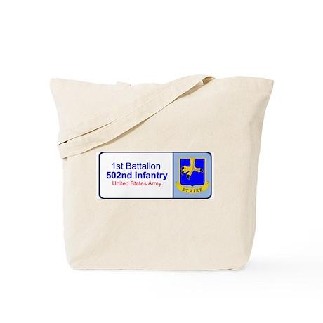 1st Battalion 502nd Infantry Tote Bag