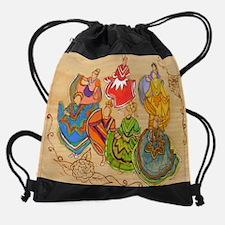 Ballet Folklorico16x20.jpg Drawstring Bag