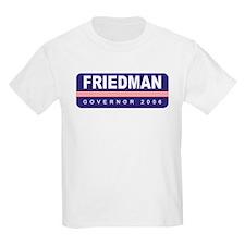 Support Kinky Friedman Kids T-Shirt
