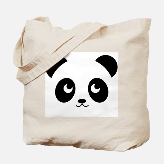 Panda Smile Tote Bag