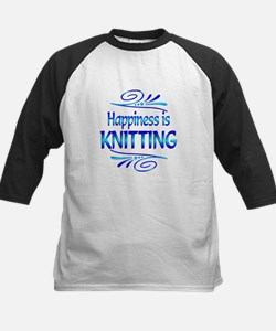 Happiness is Knitting Tee