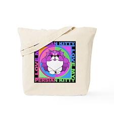 Persian Kitty Cat Graphics Tote Bag