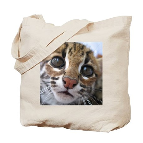 asian leopard cat Tote Bag