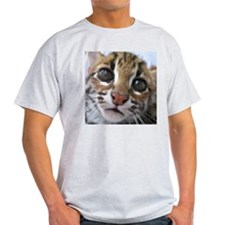 asian leopard cat Ash Grey T-Shirt