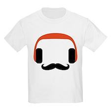 mustache_headphone T-Shirt