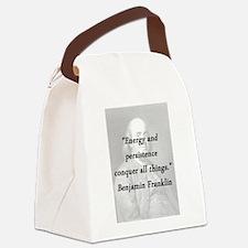 Franklin - Energy Canvas Lunch Bag