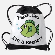 keeperpapaw.png Drawstring Bag