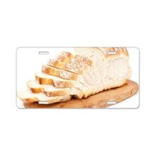 Bread Loaf Aluminum License Plate
