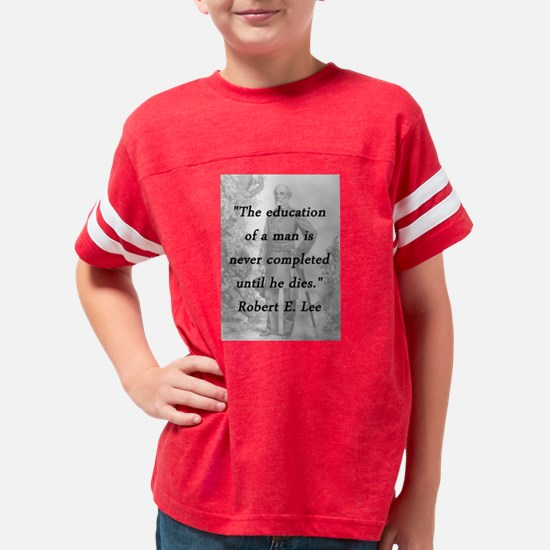 Robert E Lee - Education of a Man Youth Football S