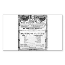 Romeo and Juliet #2 Rectangle Decal