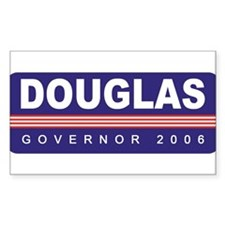 Support Jim Douglas Rectangle Decal