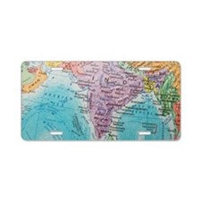 Global view of India Aluminum License Plate