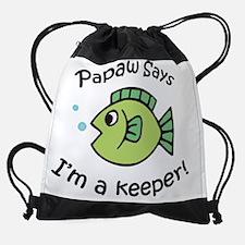 3-keeperpapaw.png Drawstring Bag