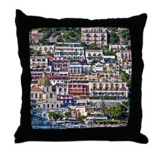 Positano, Italy Throw Pillow