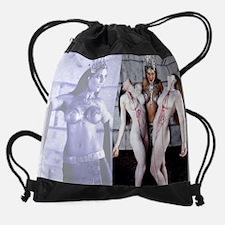 Akasha Body Art by Mark Greenawalt Drawstring Bag