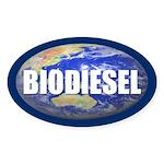 BIODIESEL Oval Sticker