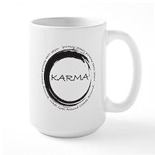 Karma, What goes around comes around Mug