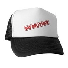 Red Big Brother Trucker Hat
