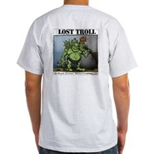 Ash Grey WYH Lost Troll T-Shirt