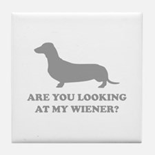 Are You Looking Tile Coaster