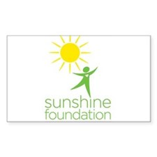 Sunshine Rectangle Decal