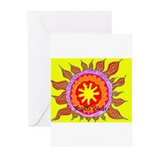 Unique Healing religion beliefs peace Greeting Cards (Pk of 10)