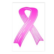 Breast Cancer Ribbon Postcards (Package of 8)