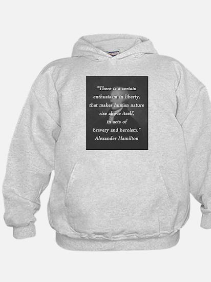 Hamilton - Certain Enthusiasm Hoody