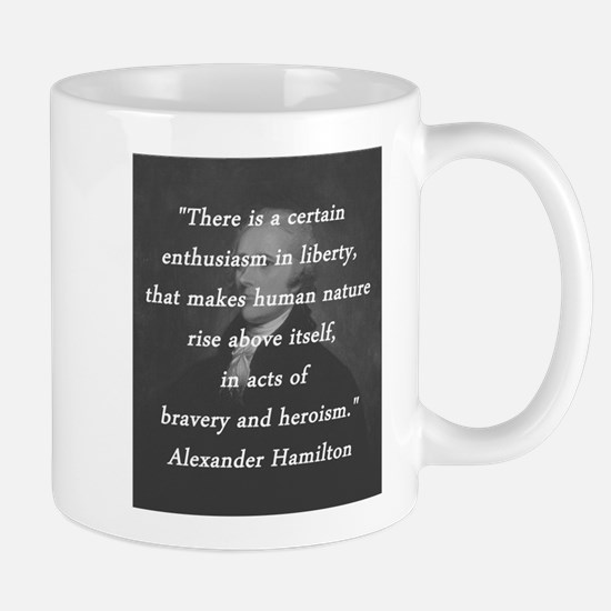 Hamilton - Certain Enthusiasm Mug