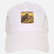 Old Crow vintage label Baseball Baseball Cap