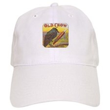 Old Crow vintage label Baseball Cap