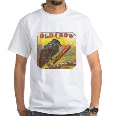 Old Crow vintage label White T-Shirt