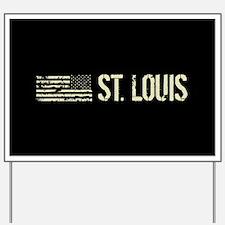 Black Flag: St. Louis Yard Sign