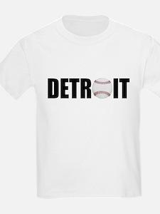 Detroit Baseball Kids T-Shirt