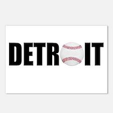 Detroit Baseball Postcards (Package of 8)