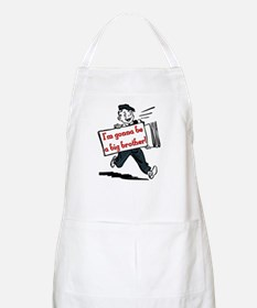 I'm Gonna be a Big Brother BBQ Apron