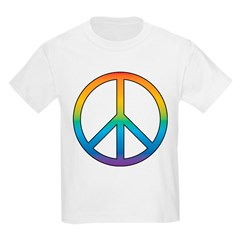 Rainbow Peace Kids T-Shirt