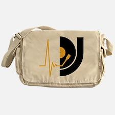 music_pulse_dj Messenger Bag