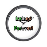 Ireland Forever Wall Clock