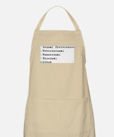 Sexual Preference BBQ Apron