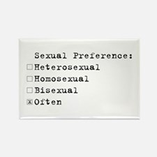 Sexual Preference Rectangle Magnet