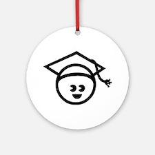 Grad Baby Ornament (Round)