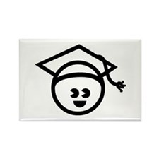 Grad Baby Rectangle Magnet