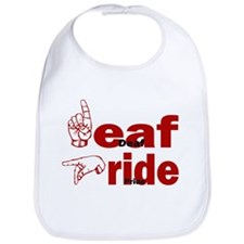 Deaf Pride Bib