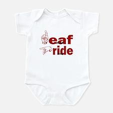 Deaf Pride Infant Bodysuit