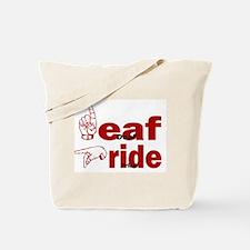 Deaf Pride Tote Bag