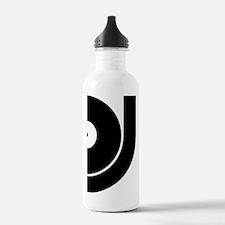 vinyl_dj Water Bottle