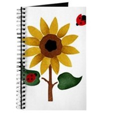 Sunflower with a bug Journal
